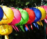 Schicke Lampions zur Beleuchtung und Dekoration